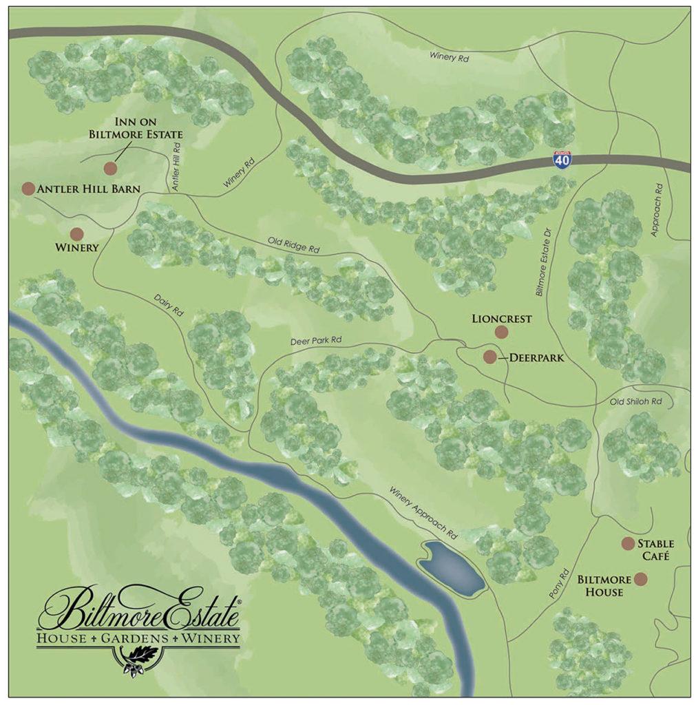 Biltmore Map